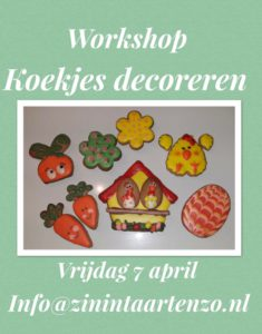 Koekjes workshop